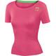 Karpos Fast Koszulka do biegania z krótkim rękawem Kobiety różowy